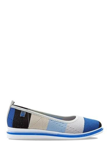 Benetton Bn30227  Kadın Spor Ayakkabı Mavi
